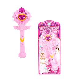 Fairy Princess Toys UK - Flashing Light Fairy Princess Luminescence Musical Magic Wand Kids Fun Toys
