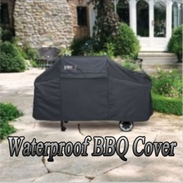 $enCountryForm.capitalKeyWord Canada - Barbecue Bag Waterproof BBQ Cover Outdoor Rain Barbecue Grill Protector For Gas Charcoal Barbeque Grill Anti Dust Shield