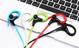 $enCountryForm.capitalKeyWord Australia - Bluetooth Headphones Sport Wireless Headset Hook Stereo Music Player Neckband Earphones Jogging Headphones For Iphone 7 High Quality