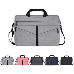 Basit ofis evrak çantası bilgisayar çantası zarf erkek ve kadın evrensel dizüstü tablet bilgisayar çantası 15.6 Inç