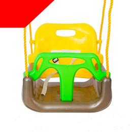 Novo Estilo 3 Em 1 Bebê Balanços Para Crianças Cadeira de Balanço Ao Ar Livre Jardim Parque de Segurança Crianças Balanços Do Bebê Balanços