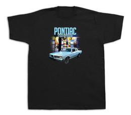 hot cotton tshirts UK - Pontiac Tempest Gas station highway Hot Rod Tshirts Muscle Car GM GTO Lemans