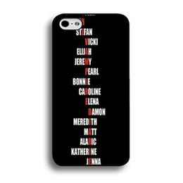 $enCountryForm.capitalKeyWord Australia - Fashionable TV Series The Vampire Phone Case For Iphone 5c 5s 6s 6plus 6splus 7 7plus Samsung Galaxy S5 S6 S6ep S7 S7ep