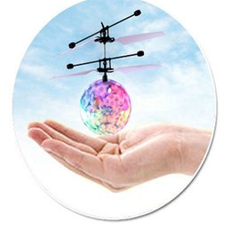 $enCountryForm.capitalKeyWord Australia - Wholesale-MUQGEW 2017 Hand Spinner Fashion RC Drone Helicopter Ball Built-in Shinning LED Lighting for Kids Teenagers Colorful Flyings Toy