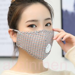 $enCountryForm.capitalKeyWord NZ - Free shipping Washable Cotton PM2.5 Anti Haze Mask Breath valve anti-dust mouth mask Activated carbon filter respirator Maternity mask