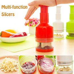 Onion Cutter Chopper Canada - Free Shipping Universal Kitchen Cooking Tools Pepper Potatoes Tomato Onion Slicer Roto Chopper Vegetables Fruits Salad Cutter