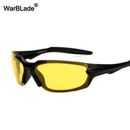478f59d100 WarBLade Night Vision Sun glasses HD Polarized Sunglasses For Driving  Goggles Anti-glare Yellow Lens Sun glasses For Men Women