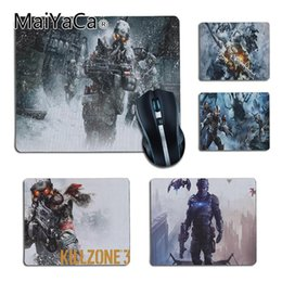 Rubber Player NZ - MaiYaCa High Quality Killzone Printing Rubber Pad to Mouse Game for Dota2 CS Player gaming mouse pad