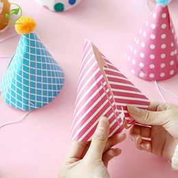 11pcs Set Party Celebration Korean Cute Hats Birthday Hat Festival Photograph Items Decorations Kids