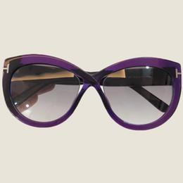 f765b9c9393e 2018 New Cat Eye Women Sunglasses Tinted Color Lens Men Vintage Shaped Sun Glasses  Female Eyewear Purple Sunglasses Brand Designer