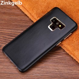 $enCountryForm.capitalKeyWord NZ - For Samsung Note 9 Cover Case Luxury Slim Soft Genuine Leather Armor Shockproof Back Phone Case for Samsung Note 9 Case Cover