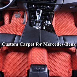 $enCountryForm.capitalKeyWord NZ - Wholesale Custom Car Floor Mats for mercedes benz c300 glk 350 gla gle ml350 w212 w204 3D Luxury Carpets Alfombra Coche Tapete Carro