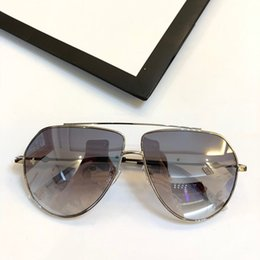 5616811146 The new fashion womens mens Designer metal Sunglasses 0399 classic pilot frame  style trend Business sun eyeglasses uv400 top quality eyewear