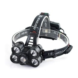 China 30000LM 4 Modes 5x XM-L T6 LED USB Adjustable Focus Headlamp HeadLight for Outdoor Bike Bicycle Cycling Riding Night Safty P40 cheap focus cycling suppliers