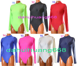 fancy full body suits NZ - Sexy Short Body Suit Costumes New 23 Color Lycra Spandex Short Suit Catsuit Costumes Unisex Halloween Fancy Dress Cosplay Costumes DH005