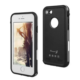 Dust Waterproof Iphone Case NZ - For Apple Iphone 7 Waterproof Case Ultra Slim Thin Life Water Dust Shock Proof Case Full Body Protective Back Cover For Iphone7
