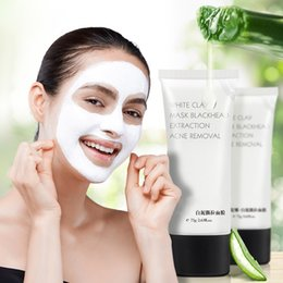 Face Mask Clean Pores Australia - PILATEN Blackhead Remover Face Mask White Clay Deep Cleansing Mud Acne Treatment Oil-control Pore Cleaner Facial Peeling Masks Skincare