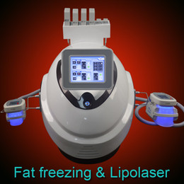 LLLt machine online shopping - New Liposuction Cavitation Fat freeze Slimming machine Cellulite reduction Fat Freezing Machine LLLT Lipo Laser pads