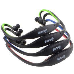 $enCountryForm.capitalKeyWord Australia - 1PCS Universal S9 Wireless Headphone Stereo Headset Sports Bluetooth Speaker Neckband Earphone Bluetooth 4.0 free shipping