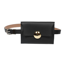 leather housing UK - SG HOUSE Vintage Women waist Bag Fashion leather fanny pack high quality ladies Bum hip Bags Female Phone Pouch Mini Waist Pack