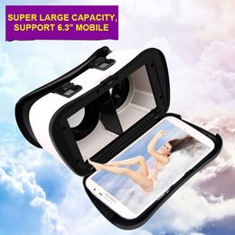 3d vr glasses online shopping - 2018 best father day gift hot sale model D VR glass case Box for mobile smart phone