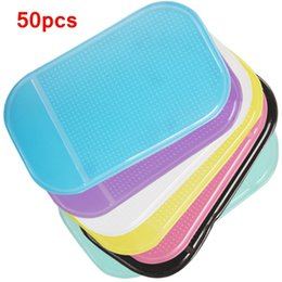 Discount shelf for mobiles - 50pcs lot Multi-functional Car Anti Slip pad Mobile Phone Shelf Sticky Rubber Antislip Mat For GPS MP3 IPhone Cell Phone