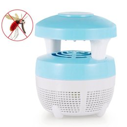 electronic bug zapper 2019 - Indoor Electric Mini Mosquito Killer Lamp USB LED Insect Electronic Bug Zapper Mosquito Inhaler Night Lamp Eco-friendly