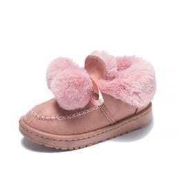 c8e8de5cc90 Warm Fur Women Snow Boots Female Fur Ball Fashion Boots Cute Suede Winter  Shoes Ankle Boots Non-Slip Warm Snow Casual Shoes