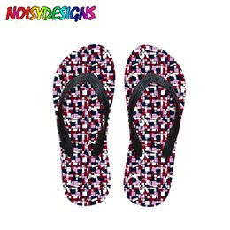 78ad8e267 Patchwork Scraps Flip Flops Women Casual Summer Women s House Slippers Cute  Paint Pattern Female Beach Slip-on Shoes Flip Flop