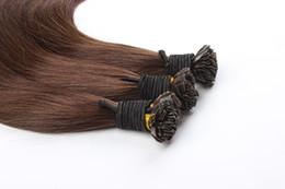 "$enCountryForm.capitalKeyWord Australia - Remy Fusion Hair Extensions 0.8g pc 20"" 24"" Real Human Hair Keratin U Tip Remy Hair Extension Straight European 50 pieces"