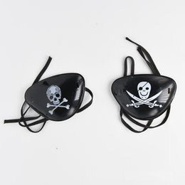 $enCountryForm.capitalKeyWord NZ - Pirate Eye Patch Skull Crossbone Halloween Party Favor Bag Costume Kids Toy Easter Gifts eye patch Cosplay eye patch Halloween masquerade