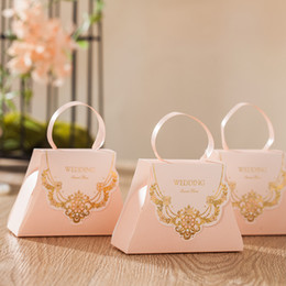 """$enCountryForm.capitalKeyWord Australia - Wedding Favors Gift Boxes Luxurious Paper Wedding Favour Chocolate Candy Box """"sweet love"""" for Wedding Party"""