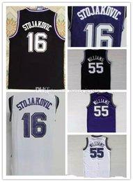 Peja Stojakovic Jersey NZ -  16 Peja Stojakovic Jersey White Purple Black   55 Jason 087617e1e