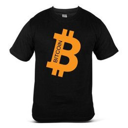$enCountryForm.capitalKeyWord UK - Bitcoin funny logo currency financial Mining Coin Money Mens T-Shirt Fashion Free Shipping Men T Shirt Great Quality Funny Man Cotton