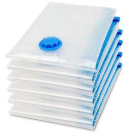 $enCountryForm.capitalKeyWord Canada - 1Pc Vacuum Space Saver Bag Compressed Organizer Clothing Quilt Air Pump Seal Bag for Organizing Cupboard Wardrobe