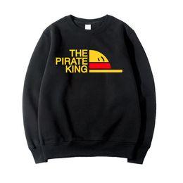 $enCountryForm.capitalKeyWord Canada - winter black white gray hoodies For Man One Piece Japanese Anime Clothing 2018 Brand tracksuits fleece autumn sweatshirts homme