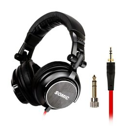 Music song Mp3 online shopping - Portable Desktop PC K song Live Singing Wired Mobile Phone MP3 Noise Cancelling HiFi Music Heavy Bass Men And Women Earmuffs Headset With A