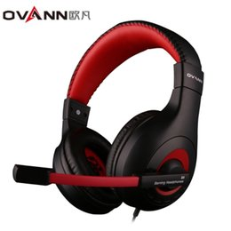 Iphone Audio Volume Australia - OVANN X4 Wired Gaming Headsets with Microphone Volume Control 3.5mm Audio Jack