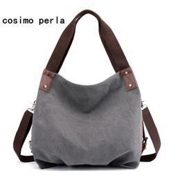 8681521cad Large Causal Tote Canvas Bag Drop Shipping Solid Shoulder Crossbody Bags for  Women Fashion Big Capacity Travel Shopper Handbags