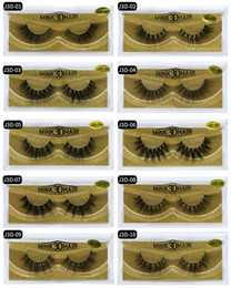 $enCountryForm.capitalKeyWord Canada - 2018 New Arrivals Makeup Mink Hair False Eyelashes Natural Thick Long Soft False Eye Lashes High Quality 3D Mink Eyelashes DHL Free Shipping