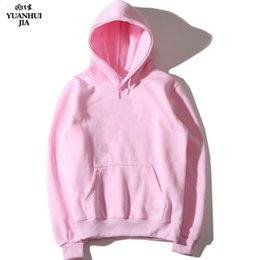 Men's Clothing Realistic 2019 New Casual Pink Black Gray Blue Hoodie Hip Hop Street Wear Sweatshirts Skateboard Men/woman Pullover Hoodies Male Hoodie High Safety