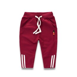 children clothing patterns UK - Kids Baby Boy Sports Pants Clothes Pattern Casual Trousers Baby Car Pants Warm Autumn Winter Cotton Children\'s