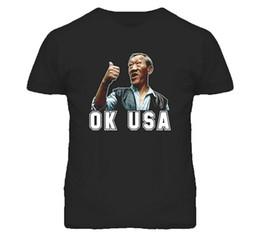 Movie Tees Canada - Bloodsport Van Dammne 80S Movie Ok Usa T-Shirt Xl Black Printed Summer Style Tees Male Harajuku Top Fitness Brand Clothing