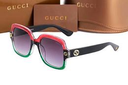 Glasses Sun Protection Australia - ggg Brand Sunglasses Designer Large Metal Sun Glasses For Men Women Silver Mirror 56mm 62mm Glass Lenses UV Protection