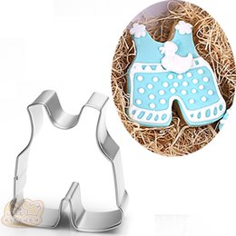 $enCountryForm.capitalKeyWord Canada - 10pcs Baby sling clothes cookie cutter Metal biscuit tool Fruit vegetable die cut Sushi stamp bread mold baking pan cake pastry tools