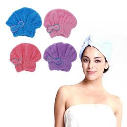 $enCountryForm.capitalKeyWord NZ - 1PC Microfiber Towel Quick Dry Hair Magic Drying Turban Wrap Hat Cap Spa Bathing New