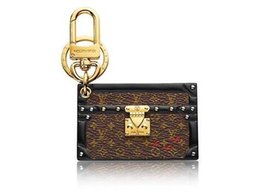 $enCountryForm.capitalKeyWord Australia - jiangyu High Quality Brand Design PETITE MALLE BAG CHARM & KEY HOLDER M78618 TAPAGE BAG CHARM KEY HOLDERS BAG CHARMS TASSEL BB