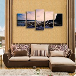 $enCountryForm.capitalKeyWord Australia - 5 pieces high-definition print landscape canvas oil painting poster and wall art living room picture PL5-133