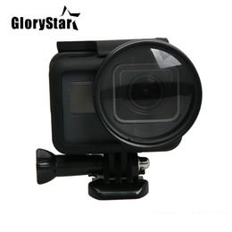 Filter adapter rings online shopping - GloryStar Filter Close UP Macro Lens Protector Cap mm Adapter Ring Filtors Filtro for Gopro Hero Black Accessories