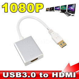 Discount usb projectors for laptops - Kebidumei NEW USB 3.0 to HDMI HD 1080P Converter Cable Multi Display Graphic Adapter for PC Laptop Audio Projector HDTV